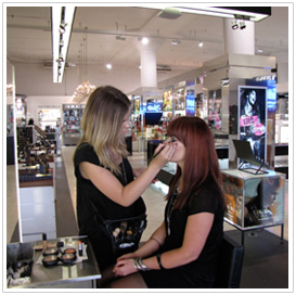 Move Over! - Make a big impression with a career as a make-up artist Image